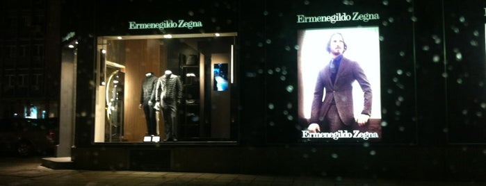 Ermenegildo Zegna is one of Lieux qui ont plu à 83.