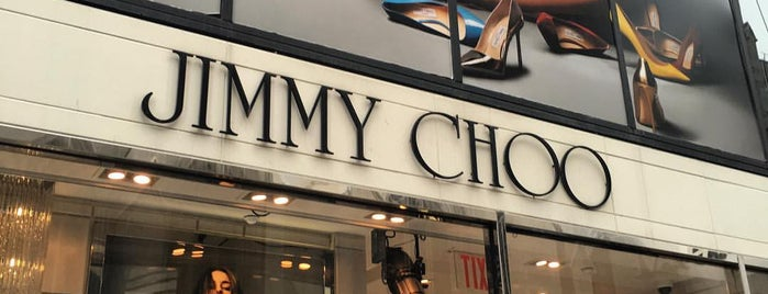 Jimmy Choo is one of US TRAVEL NY.