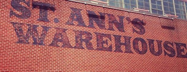 St. Ann's Warehouse is one of Brooklyn Heights Neighborhood Guide.