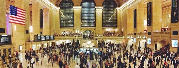 Grand Central Terminal is one of New York.