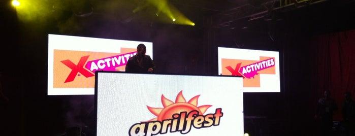 Doğuş Çabakçor Concert Aprilfest is one of Orte, die Bahri gefallen.