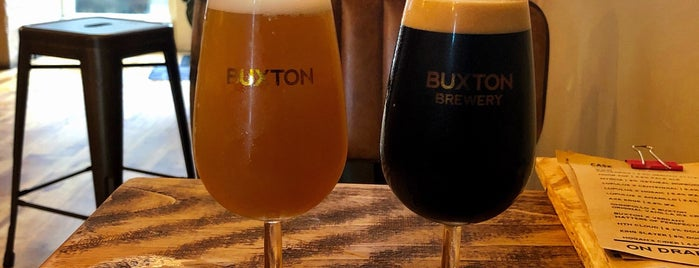 Buxton Brewery Tap House is one of Beer / Ratebeer's Top 100 Brewers [2020].
