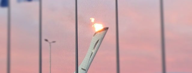 Первый Олимпийский is one of Lieux qui ont plu à АТА.