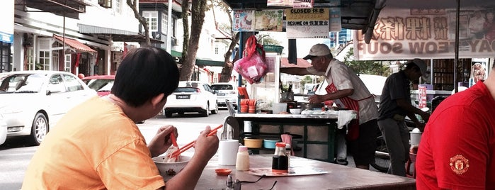 Koay Teow Soup 粿條湯 is one of Penang.