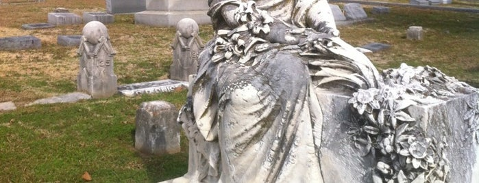 Historic Elmwood Cemetery is one of Memphis Vacation Ideas.