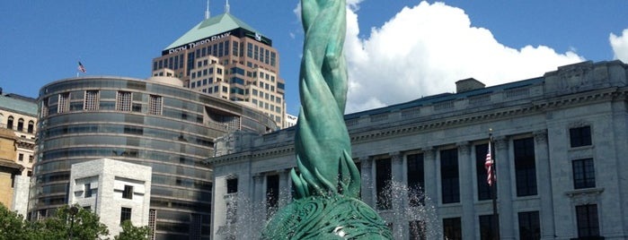 Fountain of Eternal Life is one of CLE Public Art.