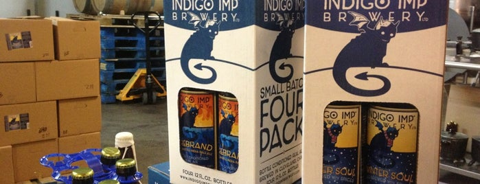 Indigo Imp Brewery is one of CLE.