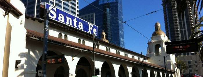 Santa Fe Depot Trolley Station is one of California & Nevada 2010.