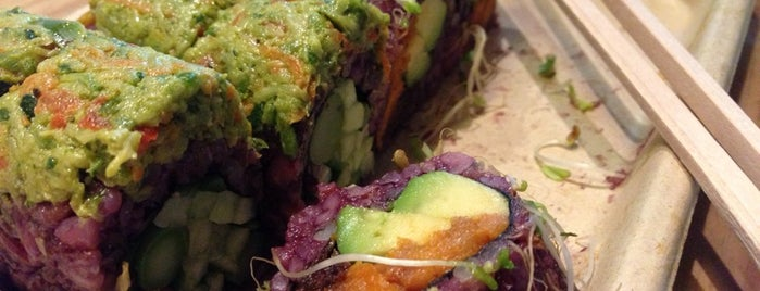 Beyond Sushi - The Green Roll is one of Lunchtime at MLB Advanced Media.