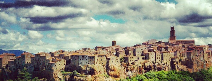 Pitigliano is one of Italy via Car.