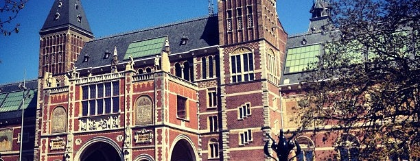 Rijksmuseum is one of Ansterdam.