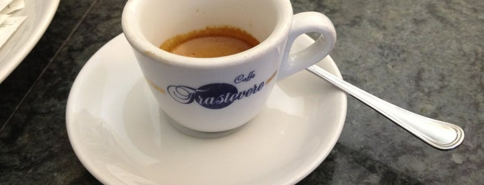 Caffe Trastevere is one of Mangiare vegan a Roma.