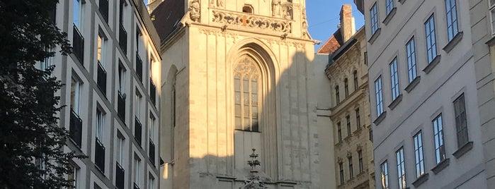 Maria am Gestade is one of Vienna.