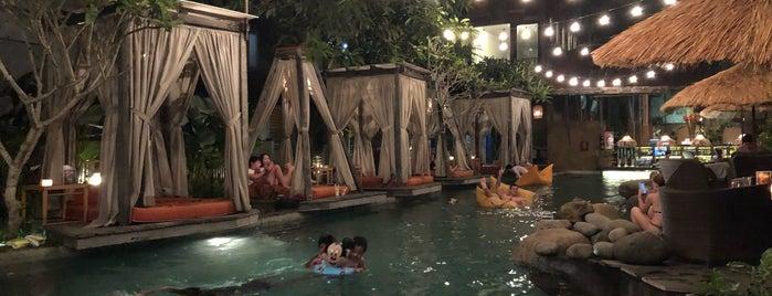 Folk Pool And Gardens is one of Ubud.