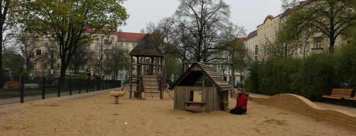 Spielplatz Wismarplatz is one of Tempat yang Disukai Sevil.