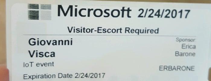 Microsoft is one of Posti che sono piaciuti a Daniele.