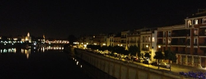 Calle Betis is one of Favorite Places Around the World.