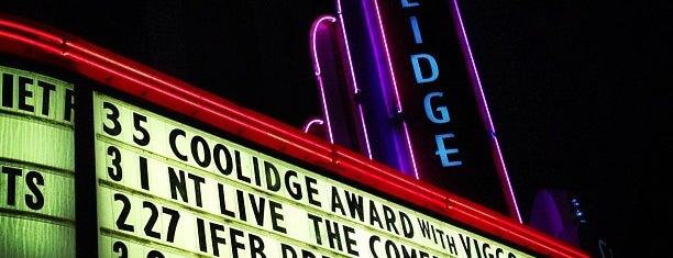 Coolidge Corner Theatre is one of Beantown.