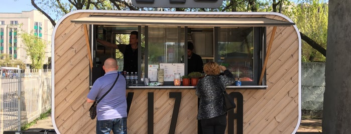 YIZHA food truck is one of Want to Try.