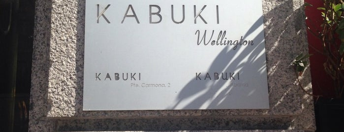 Kabuki Wellington is one of Madrid.