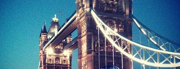 Tower Bridge is one of London.