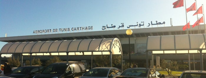 Tunis Carthage International Airport (TUN) is one of Free WiFi Airports 2.