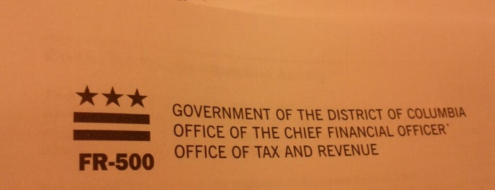 Office Of Tax And Revenue is one of Tempat yang Disukai Juanita.