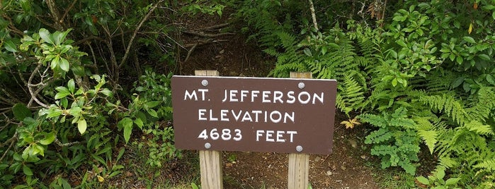 Mt Jefferson is one of NORTH CACKALACKA.