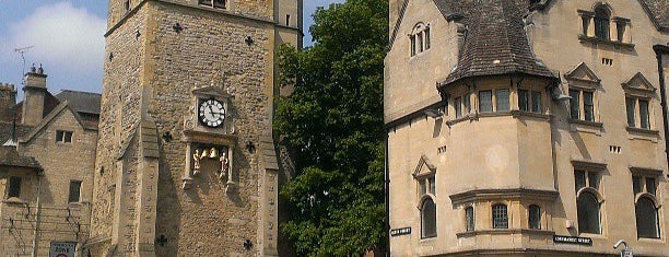 Carfax Tower is one of Oxford.