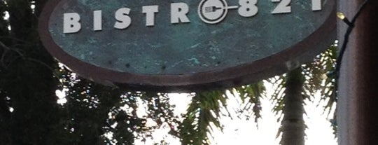 Bistro 821 is one of Florida Trip.