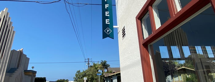 Prospect Coffee Roasters is one of Santa Barbara.