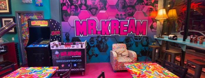 mr kream ice cream shop is one of Bienvenidos a Miami.