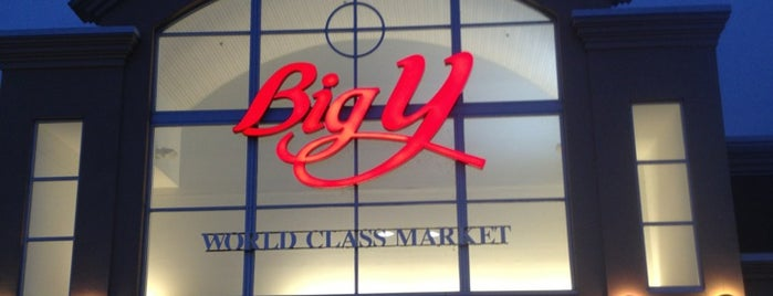 Big Y World Class Market is one of John : понравившиеся места.