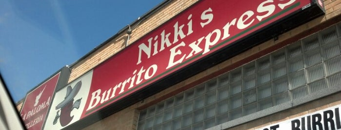 Nikki's Burrito Express is one of Sioux Falls.