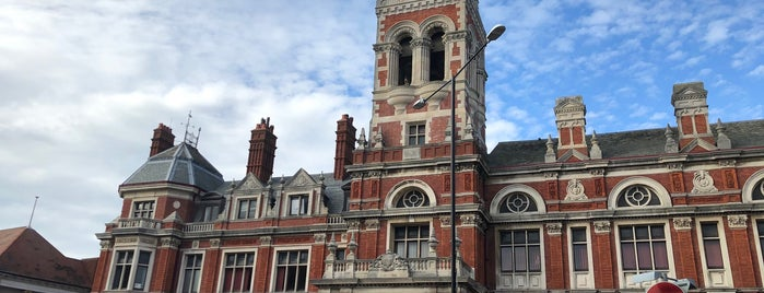 Eastbourne Town Hall is one of Traveling about with work.