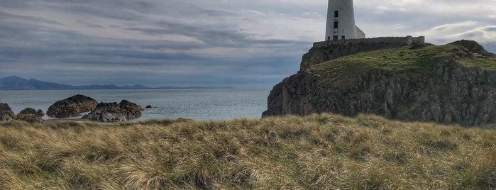 Llanddwyn Island Lighthouse is one of Wales.