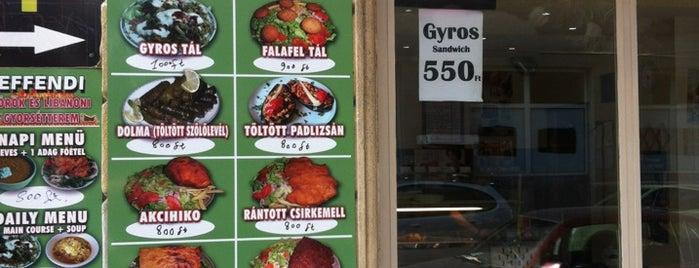 Libanoni Izek is one of Világbüfé - Etnikai konyhák Budapesten.