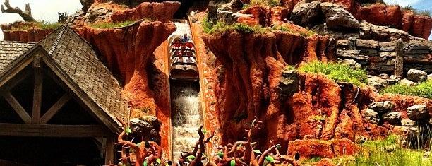 Splash Mountain is one of Walt Disney World.