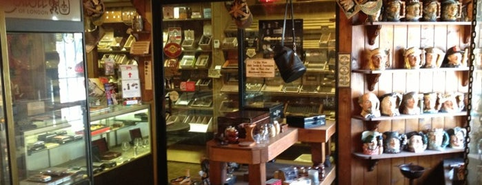 The Tinder Box is one of Beat place to smoke cigars.