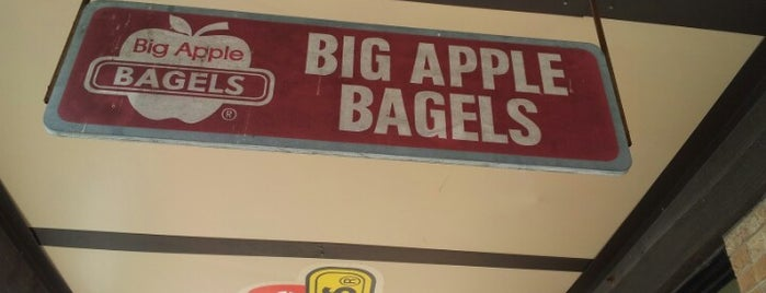 Big Apple Bagels is one of al's Liked Places.