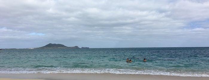 Lanikai Beach is one of Sam : понравившиеся места.