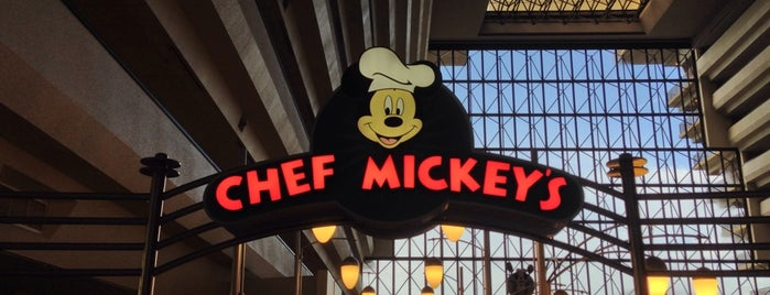 Chef Mickey's is one of Orlando/2013.
