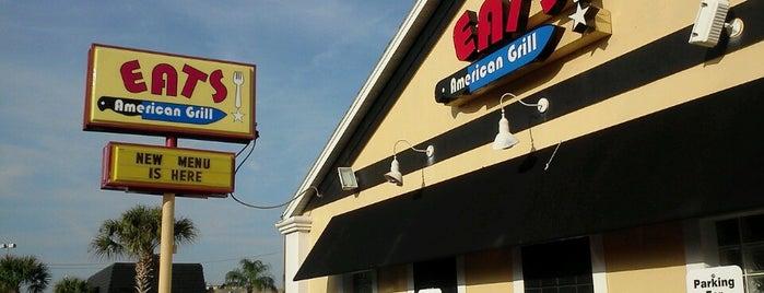 Eats American Grill is one of Orte, die Champagne Girl 💋🏈🍷🇮🇹 gefallen.