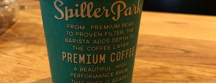 Spiller Park Coffee is one of Posti salvati di Whit.