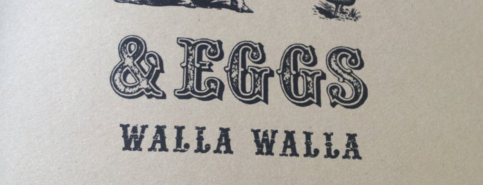 Bacon And Eggs, Walla Walla is one of Wine Trip: Washington (2nd US wine country).