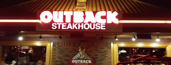 Outback Steakhouse is one of Tempat yang Disukai Elijah.
