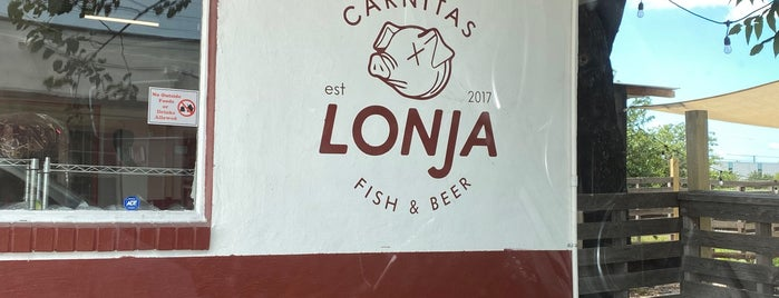 Carnitas Lonja is one of SATX TO DO.