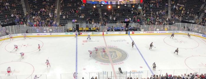 T-Mobile Arena is one of Tempat yang Disukai Danyel.