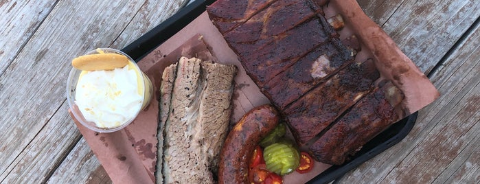 Evie Mae's Pit Barbecue is one of TM Top 50 BBQ Joints in TX 2017.