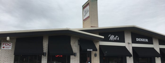 Mel's Diner is one of Places to check out in Rochester.
